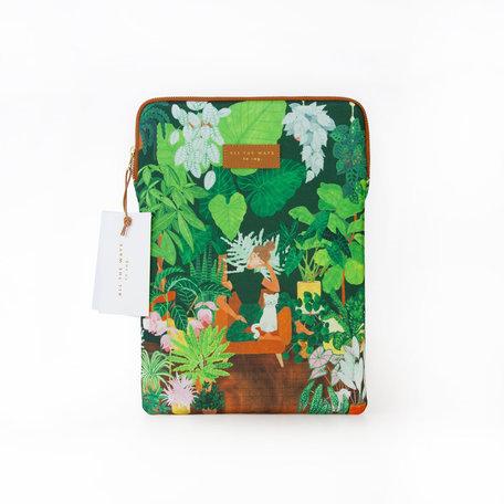 plant addict laptop sleeve 13 inch