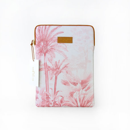 pink forest laptop sleeve 13 inch