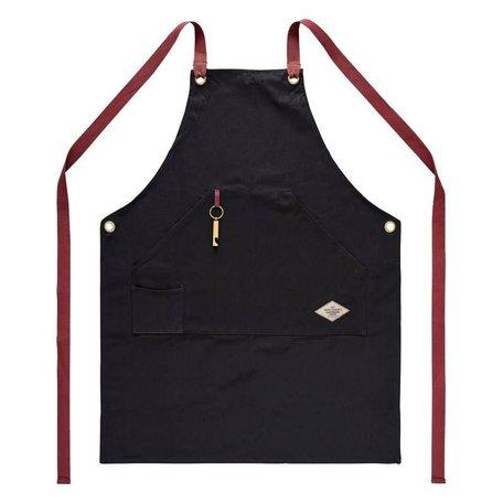 BBQ utility apron & bottle opener