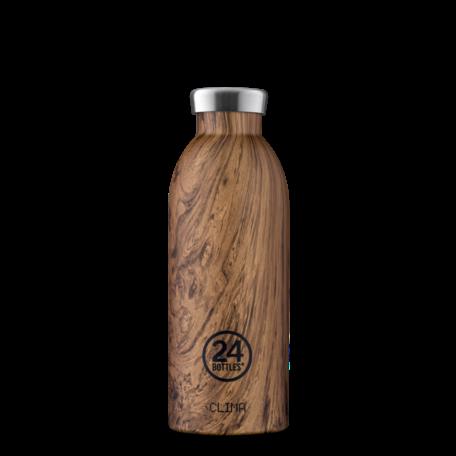 clima bottle sequoia wood 500ml