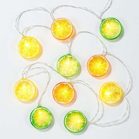 tropical fiesta citrus lights