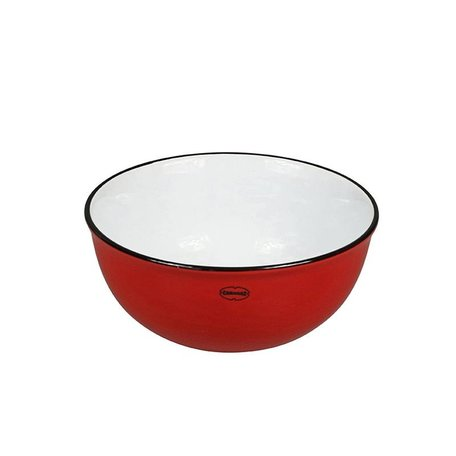Cereal bowl red