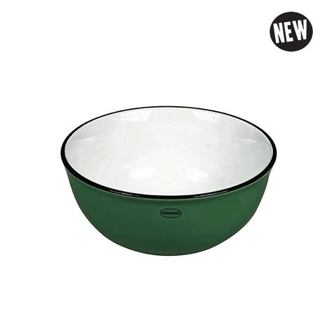 Cereal bowl pine green