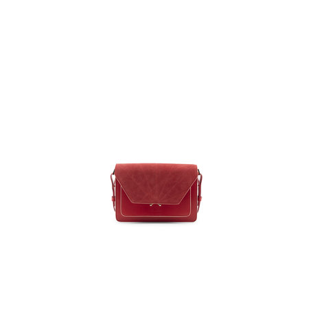 the sticky sis club satchel poppy red