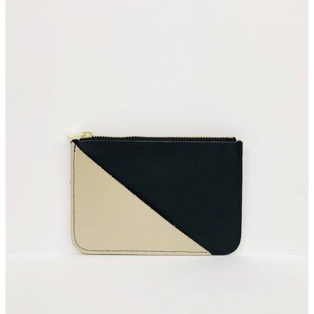 coin purse black gold CP001-BK