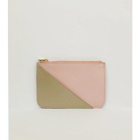 coin purse pink  gold CP003-PK
