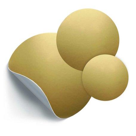 3 circles gold