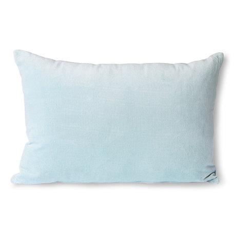 TKU2110 velvet cushion ice blue