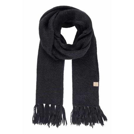 Copy of sjaal met franjes creme