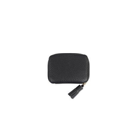 klein portemonneetje zwart