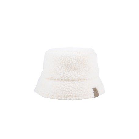 teddy hoed crème