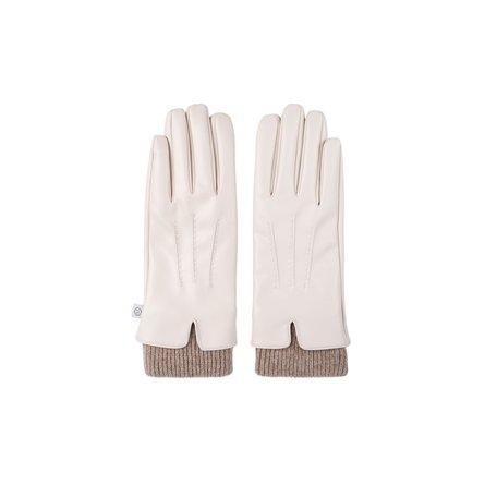 fijne handschoen crème