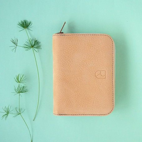 small leather wallet nude