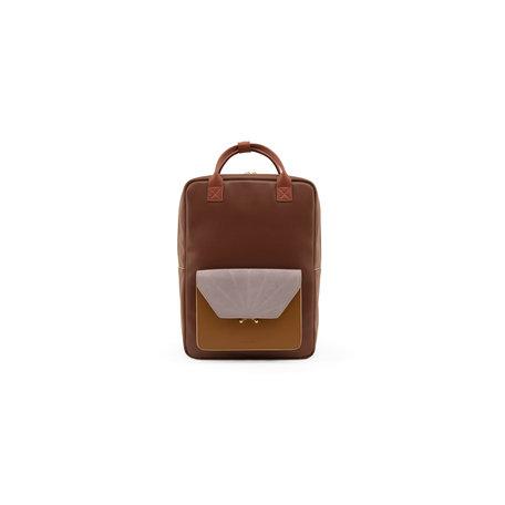 sticky sis backpack coloré burgundy
