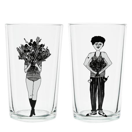 glas flower girl & flower man
