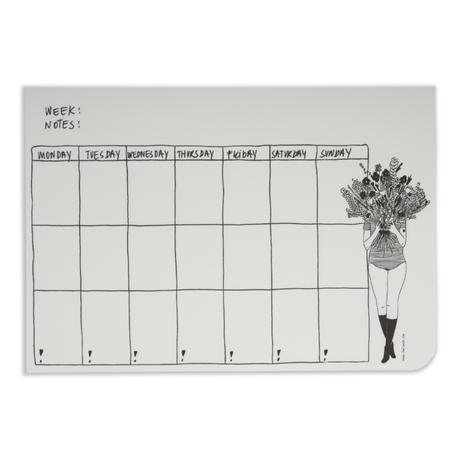 weekplanner flower girl