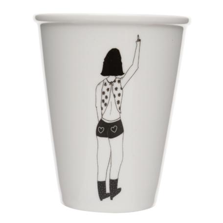 cup bye bye girl