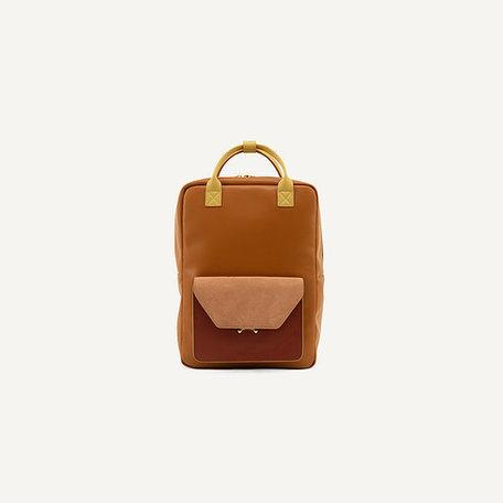 sticky sis backpack coloré orange
