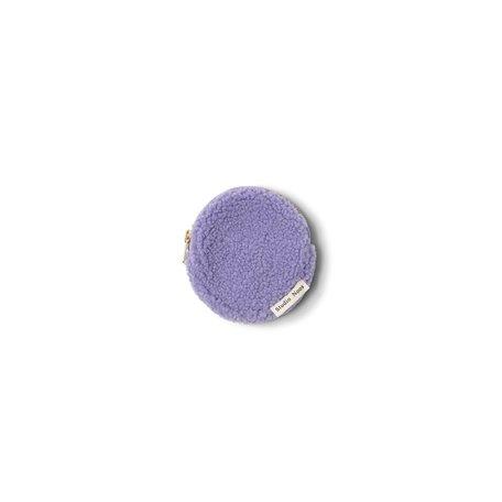 pastel lila teddy wallet