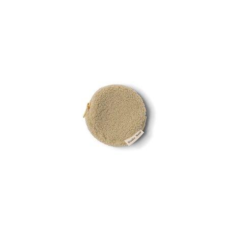 pastel pistache chunky teddy wallet