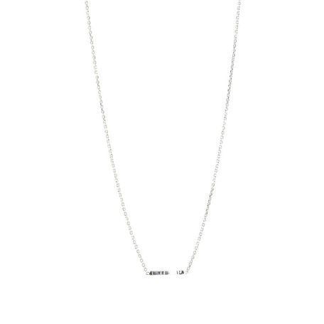 layers chain necklace SILVER