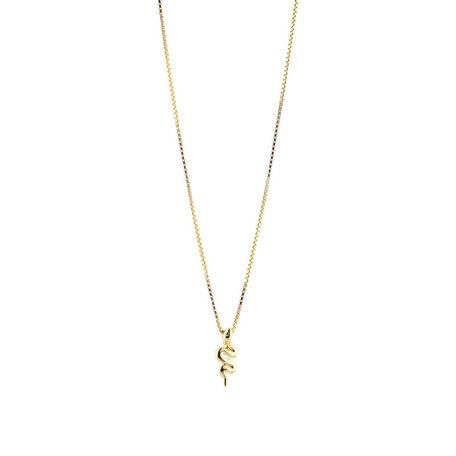 small snake pendant necklace 50cm