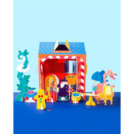 Tiny house -princess & dragon