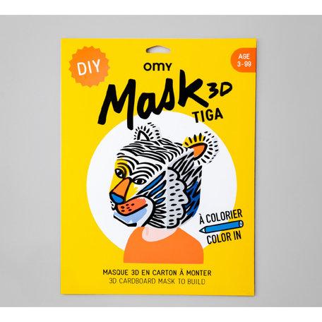 MASK TIGA 3D