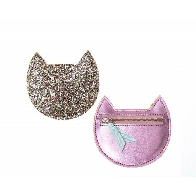 ROCKAHULA - Cat Multi Glitter Purse