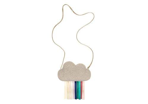 Schoudertasje - Regenboog wolk