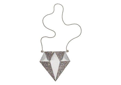 Schoudertasje - Diamant