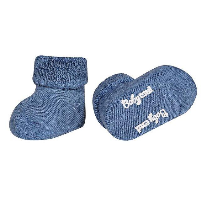 CONDOR - Baby Sokken - Teddy French Blue (449)