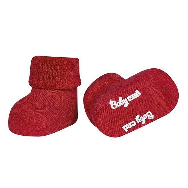 CONDOR - Baby Sokken - Teddy Red (550)