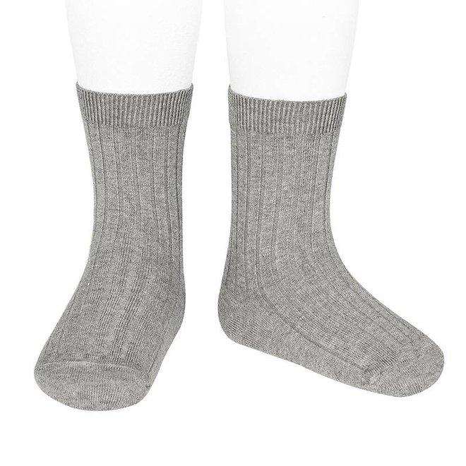 CONDOR - Korte Sokken - Aluminium (221)