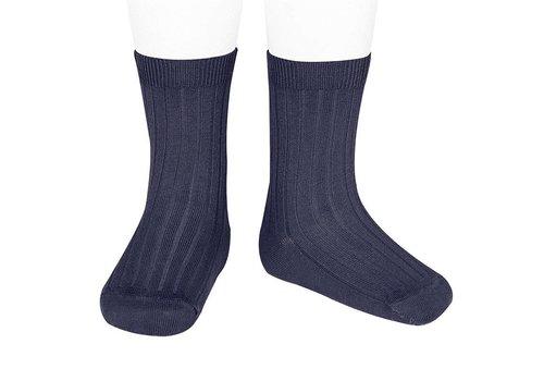 CONDOR CONDOR - Korte Sokken - Navy Blue (480)