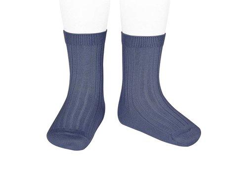 CONDOR CONDOR - Korte Sokken -  Jeans (490)