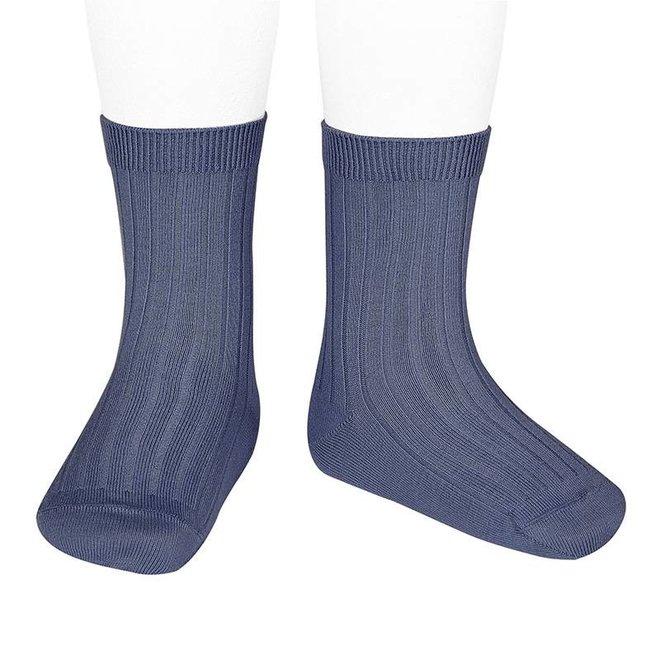 CONDOR - Korte Sokken -  Jeans (490)