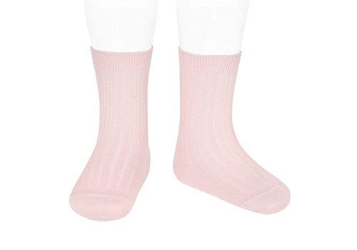 CONDOR CONDOR - Korte Sokken -  Baby Pink (500)