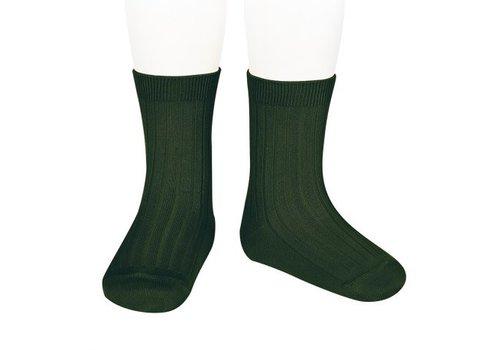 CONDOR CONDOR - Korte Sokken - Bottle Green (780)