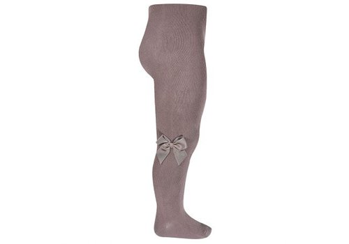CONDOR CONDOR - Tights with side grossgrain bow (314)