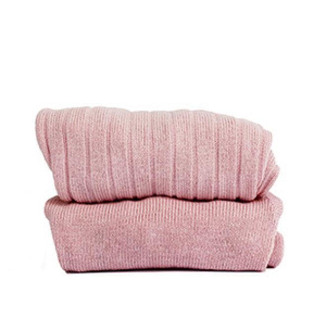CONDOR - Kousenbroek met pompom - Pale Pink (526)