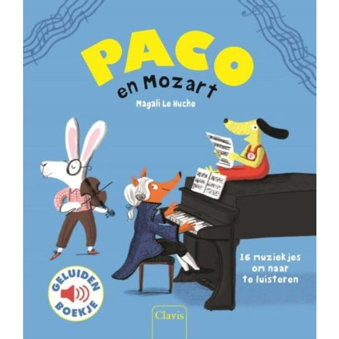 CLAVIS - Geluidenboek - Paco en mozart