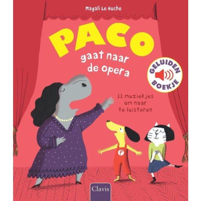 CLAVIS - Geluidenboek - Paco gaat naar de opera