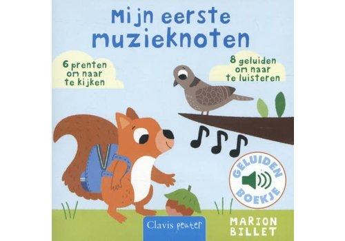 CLAVIS - Geluidenboekje Mijn eerste muzieknoten