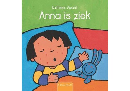 CLAVIS - Kijk - & Voorleesboek - Anna is ziek