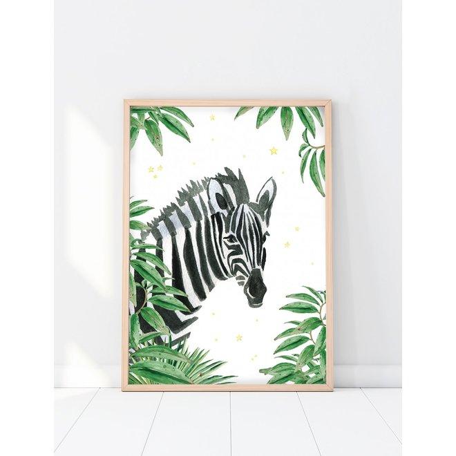 Creative Lab Amsterdam - Jungle Star Zebra 70x100