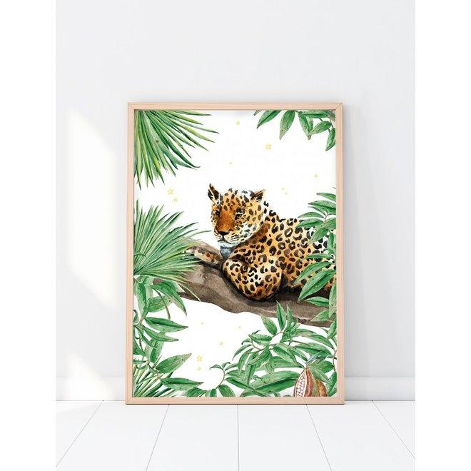 Creative Lab Amsterdam - Jungle Star Panther 70x100