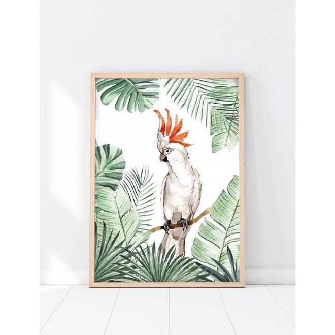 Creative Lab Amsterdam - Jungle Parrot 70x100