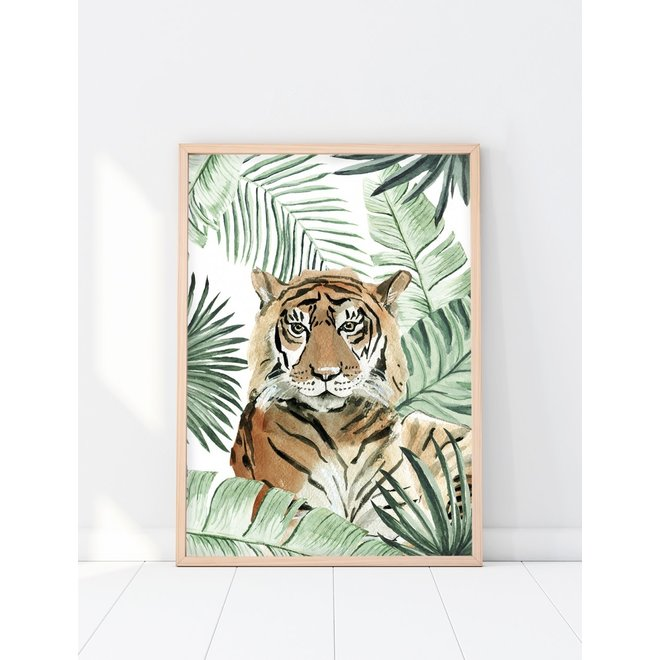 Creative Lab Amsterdam - Jungle Tiger 70x100