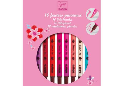 Djeco DJECO - 10 feutres sweet